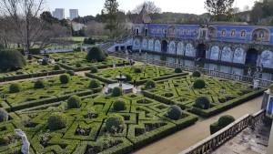 Часть сада при дворце маркиза Фронтейра. Лиссабон.